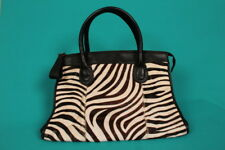 Leather M&S Autograph ZEBRA PRINT TOTE HANDBAG