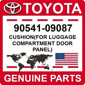 90541-09087 Toyota OEM Genuine CUSHION(FOR LUGGAGE COMPARTMENT DOOR PANEL)