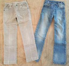 CAPTAIN TORTUE ♥ Jean bleu délavé et pantalon velours  ♥ T. 8 ans