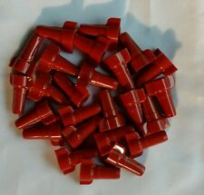 25 Red Wire Connectors Wire Twist Connectors, Screw Nuts Connectors.Winged Nut