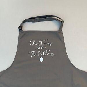 Personalised Christmas Apron, Christmas Apron, christmas dining