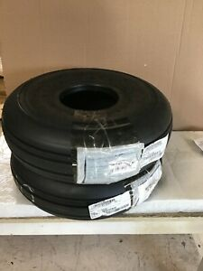 Pair of NEW 6.00-6 Condor 6-ply retread tires for Cessna 172 w/ release forms
