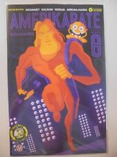 Amerikarate #8 Running Sam Variant Nm Action Lab Comics Boo