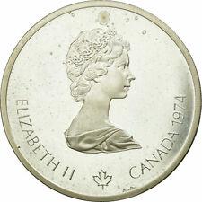 [#654767] Coin, Canada, Elizabeth II, 10 Dollars, 1975, Royal Canadian Mint