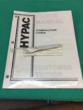 Hypac Compactor C530A Parts Manual Customer Edition