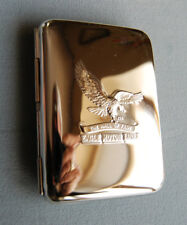 Hansaware Eagle Motors Chrome Cigarette Case Made in Germany 845/HP Eagle Motors