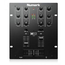 Numark M101USB 2 Channel All Purpose DJ Scratch Mixer with USB - BLACK OPENBOX