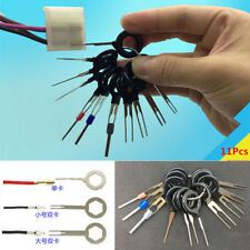 11Pcs Car Electrical Terminal Removal Tool Kit Wiring Crimp Plug Connector Pin