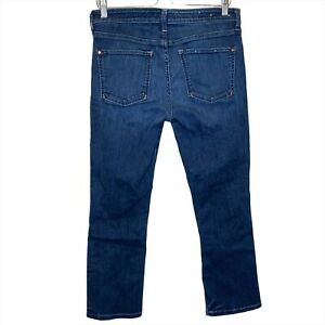 Anthropologie Pilcro And The Letterpress Crop Ankle Jeans No. 30