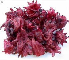 Hibiscus Dried Flowers Loose Tea 1kg trade pack  Wild Harvested
