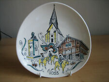 VINTAGE STAVANGERFLINT (NORWAY) DECORATIVE HAND PAINTED PLATE