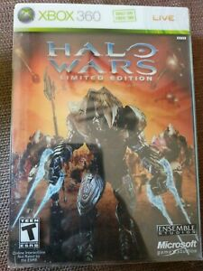 Halo Wars Limited Edition Steelbook w/ Graphic Novel & Cards (NO GAME)