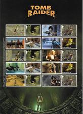 2020 GB.- Classic Video Games - Tomb Raider - Smilers Sheet - MNH.