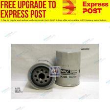 Wesfil Oil Filter WCO60 fits Fiat Ducato 2.3 JTD,2.8 JTD