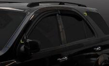 For Kia Sorento 2003 - 2009 Wind Deflectors Set - 5 door  (4 pieces)