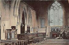POSTCARD  ESSEX   EARLS COLNE  CHURCH ( Interior )  Circa  1904