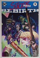 Suicide Squad #1 DC Rebirth Geek Fuel Variant  W/COA
