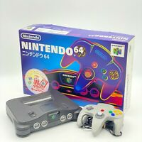 Nintendo 64 Console BOXED with Expansion Pack JAPAN N64 Free Shipping