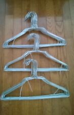 "BULK LOT 150  WIRE METAL 14.5"" CLOTHES SHIRT UNIFORM STANDARD HANGERS"