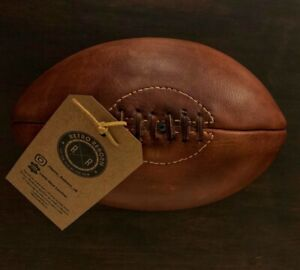 Retro Reborn Vintage Style Real Leather Rugby Ball , Rugby World Cup 2019