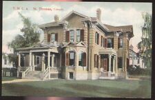 Postcard ST THOMAS Ontario/CANADA  Y.M.C.A. Large Victorian House view 1907?