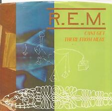 """REM early usa 7"""" 45 on IRS, CAN'T GET THERE FROM HERE~BANDWAGON, 1985"""