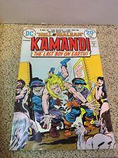 Kamandi: The Last Boy On Earth! #13 Bronze Age Comic Book (Jan 1974) 8.0 VF CGC