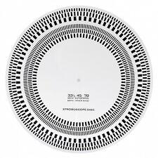 DYNAVOX Tonabnehmer-Einstelllehre und Stroboskop-Scheibe für Plattenspieler