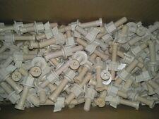 100 plastic toilet seat screws bolts