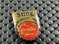 pins pin BADGE MUSIQUE MUSIC STING COCA COLA