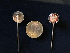 SGE Eintracht Frankfurt Bundesliga Anstecknadel ca. 14mm kein Pin badge