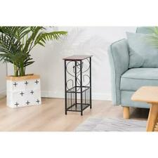 Hot Bathroom Small Toilet Paper Table Holder Magazine Rack Stand Organizer Home