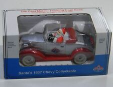 Die Cast Metal - Locking Coin Bank Santa's 1937 Chevy Collectable