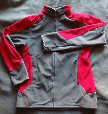 Veste polaire sweat manches longues sport Décathlon - bicolore rouge/ - taille M
