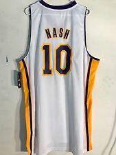 Adidas Swingman NBA Jersey Lakers Steve Nash White sz 4X