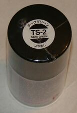 Tamiya TS-2 Dark Green Acrylic Spray Can 3oz 100ml Paint # 85002
