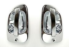Pair Exterior Door Handle Chrome Covers for Freightliner Cascadia /& M2 2