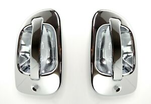 Pair(2) Exterior Door Handle Chrome Covers for Freightliner Cascadia & M2