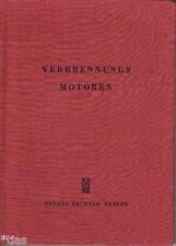 Jante Verbrennungsmotoren Entwicklung Bau Arbeitsprozesse Fachbuch 1952