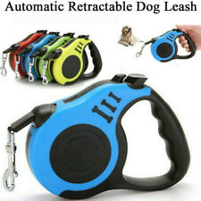 Dog Leash Retractable Walking Collar Automatic Traction Rope Small Pet 10FT,16FT