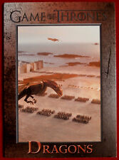GAME OF THRONES - DRAGONS - Season 3, Card #67 - Rittenhouse 2014