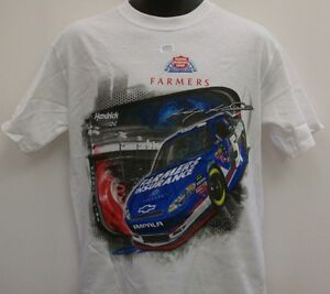 Kasey Kahne # 5 Chase Authentic's White Draft T-Shirt - Adult 2XL - Free Ship