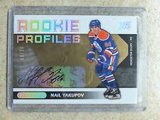 13-14 UD Overtime Hockey RC Rookie Profiles Auto #RP1 NAIL YAKUPOV /10