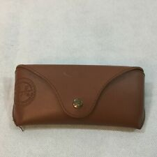Ray-Ban Eyeglasses Sunglasses Optical Hard Case with Cleaning Cloth Brown