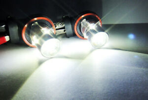 2x Q5 5 LED 9005 For 16-18 FIAT 124 SPIDER Projector Daytime Running Light 50W
