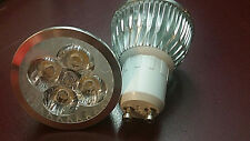 Dimmable LED Spot Light Bulb 4W 110V GU10 10x  Lamp Warm White Energy Saving NEW