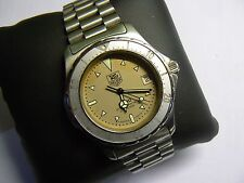 Vintage Swiss plongeurs TAG HEUER 2000 S. Steel Men's Watch Smart dans boîte d'origine