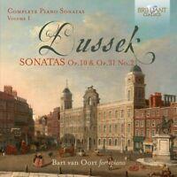 COMPLETE PIANO SONATAS VOL.1 - OORT,BART VAN- DUSSEK,JOHANN LUDWIG   CD NEW!