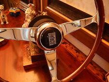 Rolls Royce Silver Spirit  Spur 1980 - 89 Wood Steering Wheel Rivets NARDI NEW