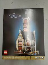 New Factory-Sealed Box Lego Fairgrounds Collection Haunted House (10273) in hand